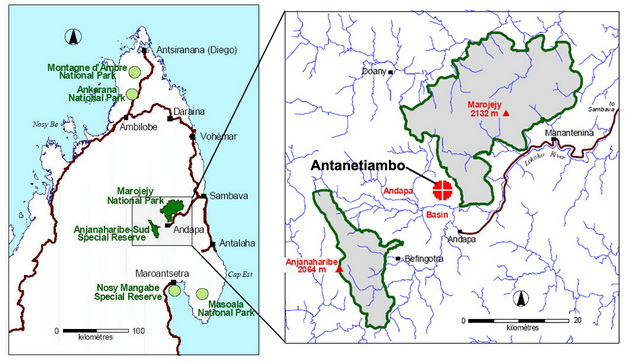 Map & Access to Antanetiambo